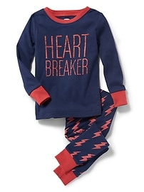 """Heart Breaker"" Sleep Set for Toddler & Baby"