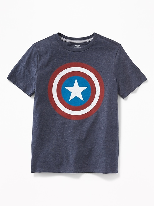 Gender-Neutral Marvel&#153 Captain America Graphic Tee for Kids