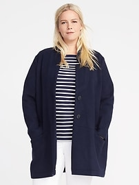 Plus-Size Everyday Coat