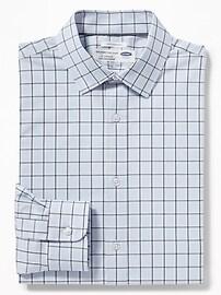 Slim-Fit Built-In Flex Signature Non-Iron Shirt for Men