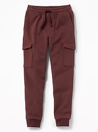 Fleece Cargo Joggers for Boys