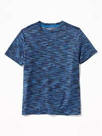 Space-Dye Performance Tee for Boys