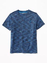 T-shirt Performance teint inégalement pour garçon