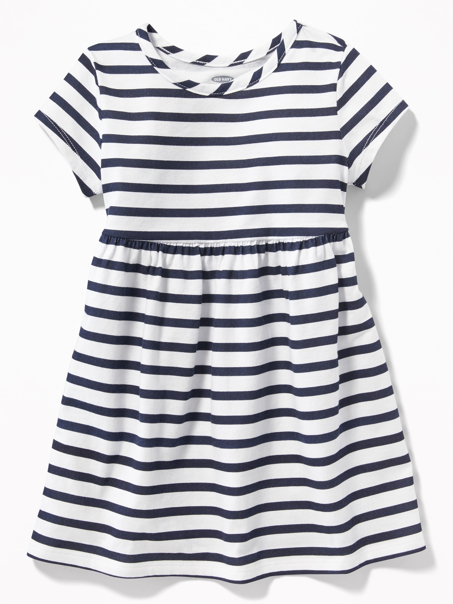 3c8a08b4faa6 Striped Jersey Babydoll Dress for Toddler Girls