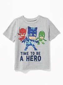 """PJ Masks&#153 """"Time to Be A Hero"""" Tee for Toddler Boys"""