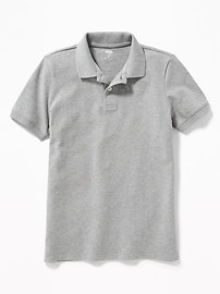 Uniform Built-In Flex Pique Polo for Boys