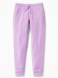 Pantalon d'entraînement en molleton pour fille