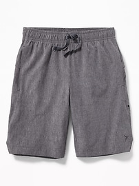 Relaxed Quick-Drying Performance Shorts for Boys