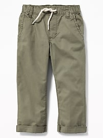 Relaxed Pull-On Pants for Toddler Boys