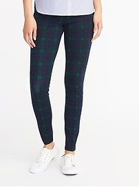 Tartan Ponte-Knit Stevie Pants for Women