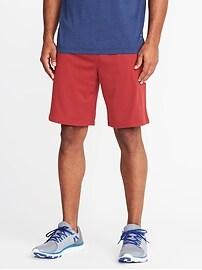 """Go-Dry Mesh Shorts for Men (10"""")"""