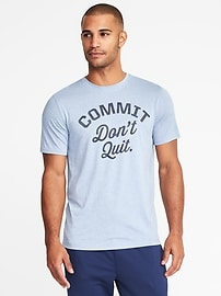 Go-Dry Eco Regular-Fit Performance Tee for Men
