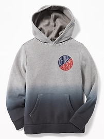 Graphic Fleece Pullover Hoodie for Boys