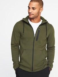 Go-Dry Fleece Zip Hoodie for Men
