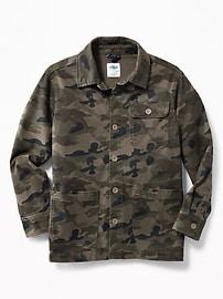 Built-In Flex Chore Jacket for Boys
