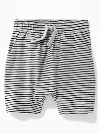 Striped Slub-Knit Jersey Shorts for Toddler Boys
