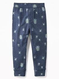 Pantalon d'entraînement à motifs pour tout-petit garçon