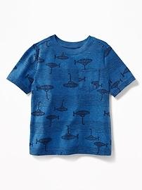 T-shirt à poche imprimé pour tout-petit garçon