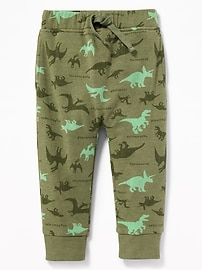 Printed Joggers for Toddler Boys