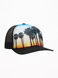 Photo-Graphic Trucker Hat for Boys