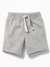 Jersey Drawstring Shorts for Toddler Boys