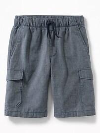 Straight Built-In Flex Cargo Shorts for Boys