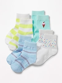 Crew Socks 4-Pack for Toddler & Baby