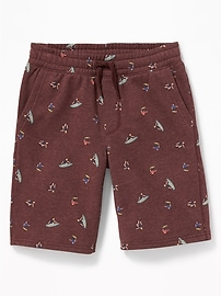 Fleece Jogger Shorts for Boys