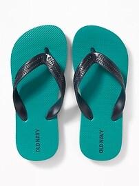 Color-Block Flip-Flops for Boys