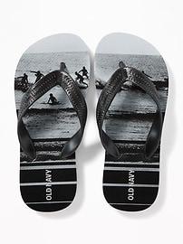 Printed Flip-Flops for Boys