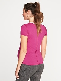 c3ead24e4c1 Maternity Semi-Fitted Performance Tee