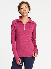 Go-Dry 1/4-Zip Performance Pullover for Women