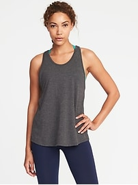 Go-Dry Open-Back Tank for Women