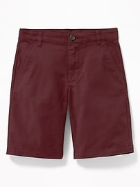Built-In Flex Twill Shorts for Boys
