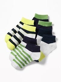 Chaussettes à la cheville pour tout-petit et bébé (paquet de 4)