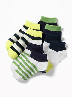Ankle Socks 4-Pack For Toddler & Baby
