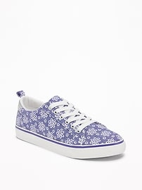 Canvas Low-Top Sneakers for Girls