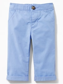 Skinny Pop-Color Twill Khakis for Baby