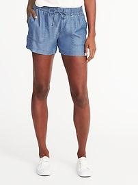 Soft Tencel&#174 Utility Shorts for Women