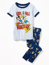 "Disney&#169 Mickey & Friends ""Up All Night"" Sleep Set for Toddler & Baby"