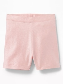 Jersey Biker Shorts for Toddler Girls