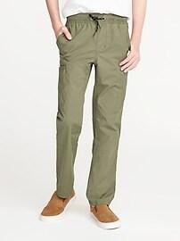 Slim Taper Built-In Flex Ripstop Pants for Boys