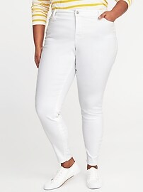High-Rise Smooth & Slim Clean Slate Plus-Size Rockstar Jeans