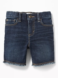 Built-In Flex Denim Cut-Offs for Toddler Boys