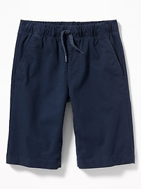 Built-In Flex Twill Jogger Shorts for Boys