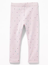 Printed Jersey Leggings for Toddler Girls