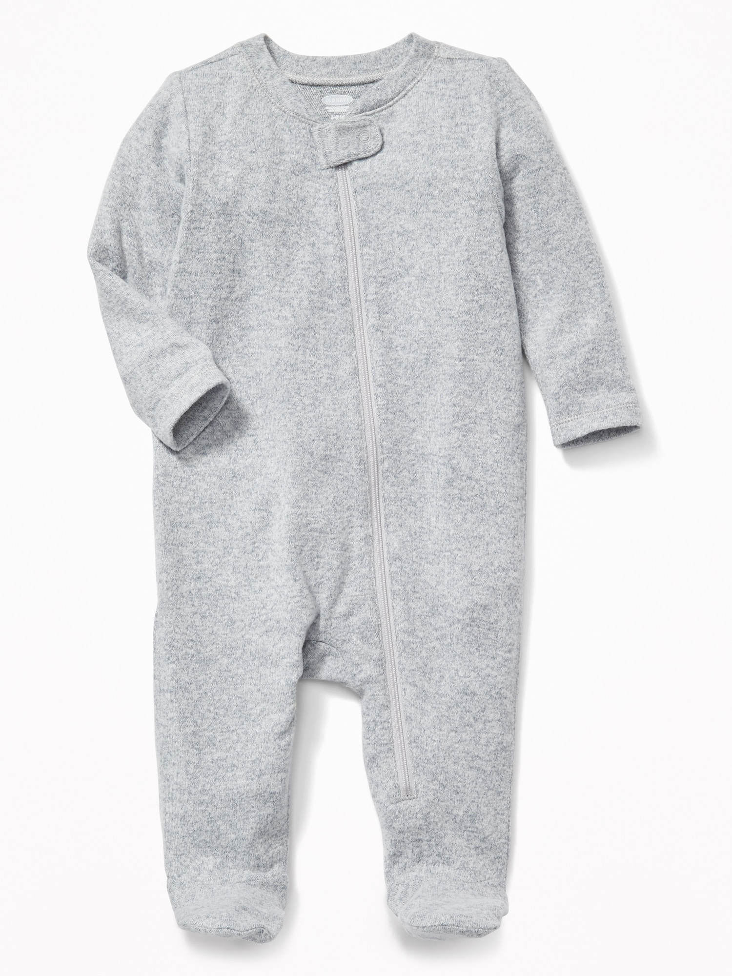 ec0343934 Plush-Knit Footed One-Piece for Baby