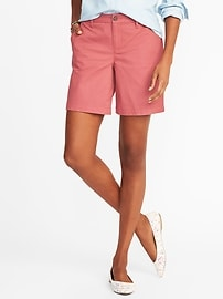 """Mid-Rise Everyday Shorts for Women (7"""")"""