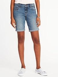 Bermudas coupe étroite pour femme (23cm)