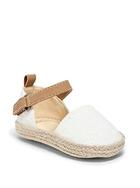 Eyelet Espadrilles for Baby